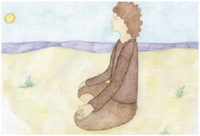 meditazione disegno